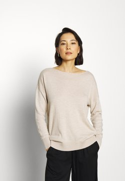 Selected Femme - SLFINKA  - Strickpullover - birch melange