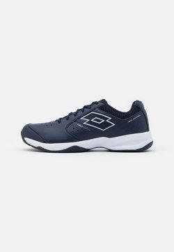 Lotto - SPACE 600 II - Tennisschoenen voor alle ondergronden - navy blue/all white