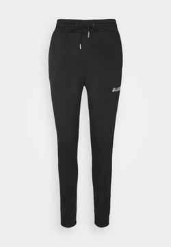 Guess - LONG PANT - Pantalon de survêtement - jet black