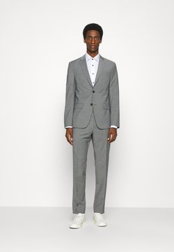 Calvin Klein Tailored - TROPICAL STRETCH SUIT - Anzug - grey