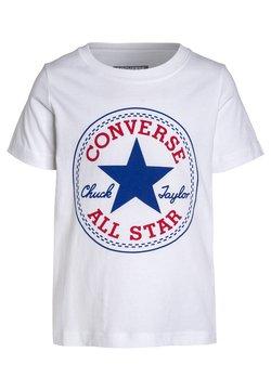 Converse - CHUCK PATCH - T-Shirt print - white