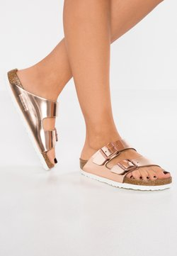 Birkenstock - ARIZONA - Pantolette flach - metallic copper