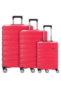 Bric's - SET 3 - Set de valises - cherry