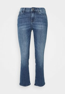 Emporio Armani - POCKETS PANT - Jeansy Skinny Fit - denim