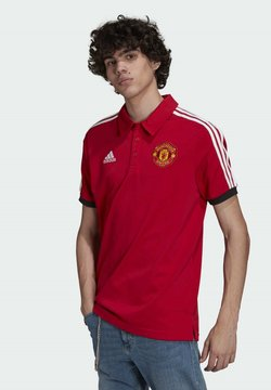 adidas Performance - MUFC 3S - Polo - red