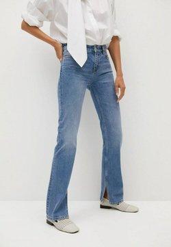 Mango - Straight leg jeans - middenblauw