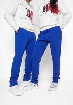 Tommy Hilfiger - LEWIS HAMILTON UNISEX PCR SWEATPANTS - Spodnie treningowe - sapphire blue