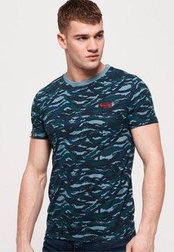 Superdry - T-Shirt print - blue