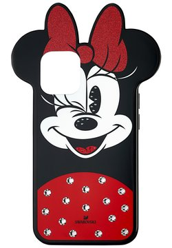 Swarovski - MINNIE SMARTPHONECASE IPHONE 12 PRO MAX - Kännykkäpussi - black and red