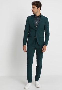 Lindbergh - PLAIN MENS SUIT - Anzug - dark green