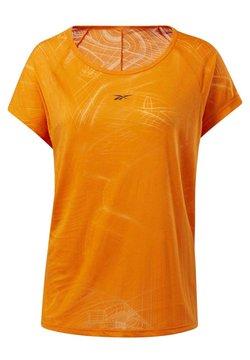 Reebok - BURNOUT T-SHIRT - T-Shirt print - orange