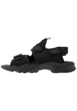 Nike Sportswear - DUMMY - Sandalias de senderismo - black/anthracite
