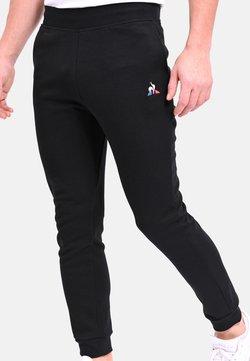 le coq sportif - ESS REGULAR N2 - TRACKSUIT BOTTOMS - Jogginghose - black