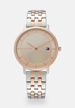Tommy Hilfiger - DRESSED UP - Montre - rose gold-coloured/silver-coloured
