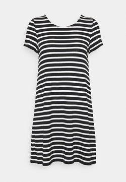 ONLY Petite - ONLBERA BACK LACEUP DRESS - Vestido ligero - black