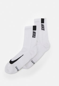 Nike Performance - 2 PACK UNISEX - Calcetines de deporte - white/black