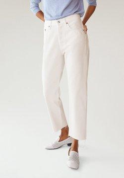 Mango - HAVANA - Straight leg jeans - blanc