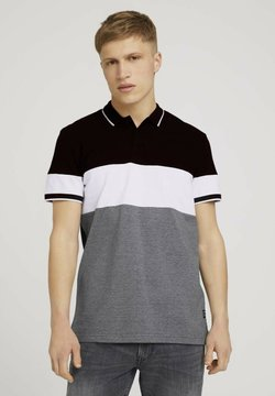 TOM TAILOR DENIM - Poloshirt - black