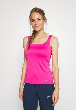 CMP - WOMAN DOUBLE - Camiseta de deporte - bouganville