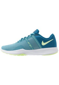 Nike Performance - CITY TRAINER 2 - Trainings-/Fitnessschuh - industrial blue/barely volt/cerulean/white