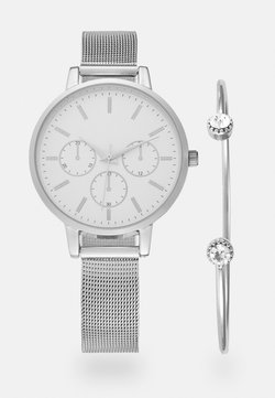 Anna Field - SET - Horloge - silver-coloured
