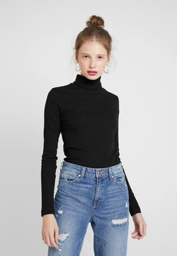 Weekday - VERENA TURTLENECK - Longsleeve - black