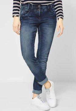 Cecil - MIT ROSÉGOLD - Jeans Slim Fit - blue