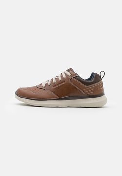 Skechers - DELSON 2.0 PLANTON - Sneaker low - brown