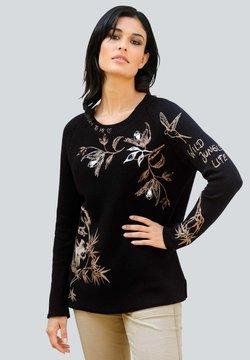 Alba Moda - Strickpullover - schwarz,beige