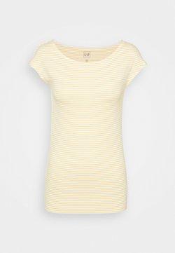 Gap Tall - BATEAU STRIPE - T-Shirt print - yellow stripe