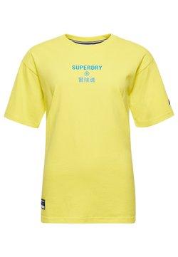 Superdry - Print T-shirt - citrus zest