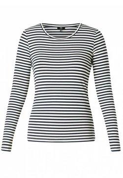 yesta - HELYA - Langarmshirt - white/dark blue