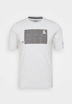 Zimtstern - SHININGZ TEE MENS - T-Shirt print - glacier grey melange