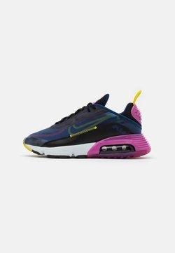 Nike Sportswear - AIR MAX 2090 - Sneakersy niskie - deep royal blue/black/active fuchsia/chrome yellow