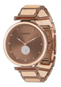 LAIMER - LAIMER QUARZ HOLZUHR - ANALOGE ARMBANDUHR MAJA - Uhr - bronze