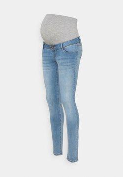 MAMALICIOUS - MLPASO SLIM JEANS  - Jeans Skinny Fit - light blue denim/wash