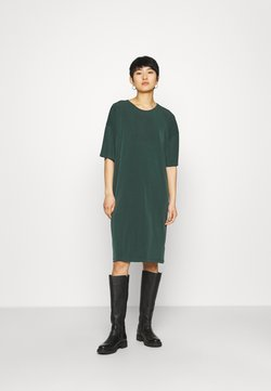 Lindex - DRESS JENNA - Vestido ligero - dark green
