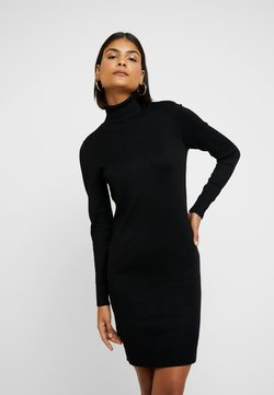 Saint Tropez - MILASZ ROLLNECK DRESS - Neulemekko - black