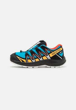 Salomon - XA PRO 3D CSWP UNISEX - Hikingschuh - hawaiian ocean/cherry to/warm apricot