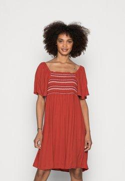 edc by Esprit - DRESS - Sukienka letnia - terracotta