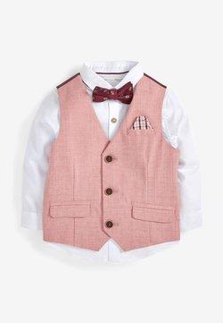 Next - SET - Anzugweste - pink
