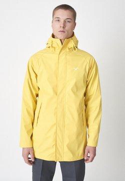Cleptomanicx - DON - Regenjacke / wasserabweisende Jacke - yellow