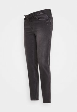 Ripe - DYLAN DISTRESSED - Vaqueros rectos - black
