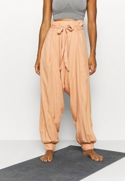 Free People - WADE AWAY HAREM - Pantalones - med orange
