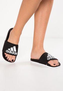 adidas Performance - ADILETTE CF LOGO - Badesandale - core black/footwear white
