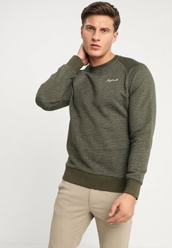 Jack & Jones - JORHIDE CREW NECK - Sweatshirt - forest night