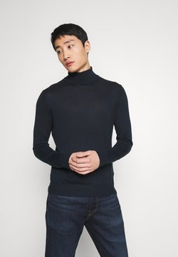 Abercrombie & Fitch - SPRING TURTLENECK - Trui - navy
