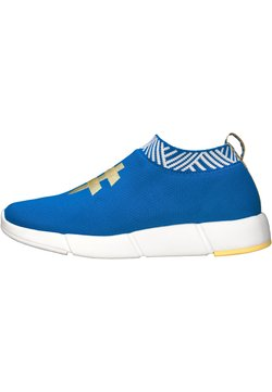 Rens Original - WATERPROOF COFFEE SNEAKERS - Zapatillas - ocean blue