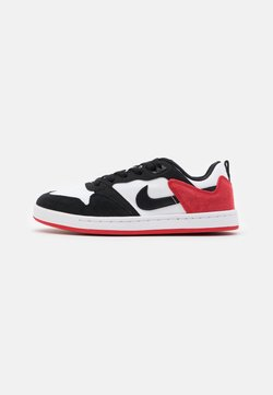 Nike SB - ALLEYOOP UNISEX - Chaussures de skate - white/black/university red
