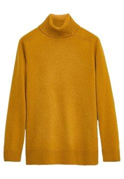 Massimo Dutti - Sweter - mustard yellow